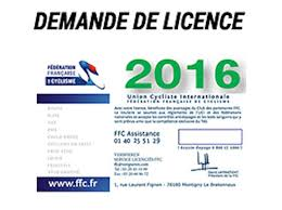 licence 2016
