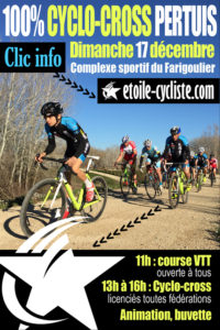 Cyclo-cross Pertuis - flyer FB