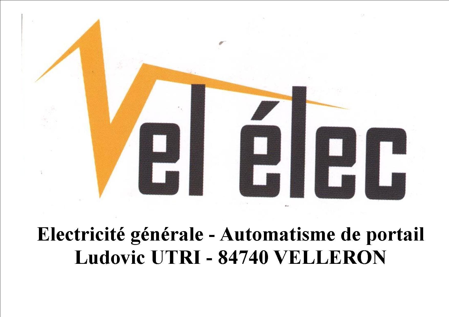 Logo vel'elec avec texte